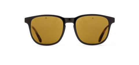 Vuarnet - District 1618 Black Crystal Sunglasses / Pure Brown Lenses