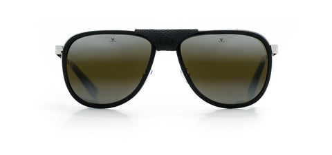 Vuarnet - Glacier XL Black Sunglasses / Skilynx Lenses