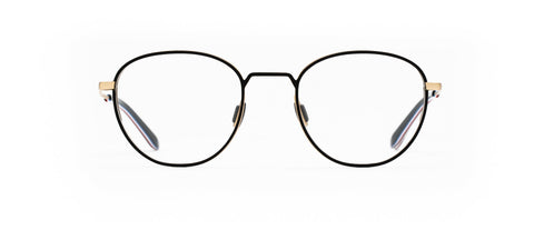 Elasta - E 7103 53mm Gold Ash Eyeglasses / Demo Lenses