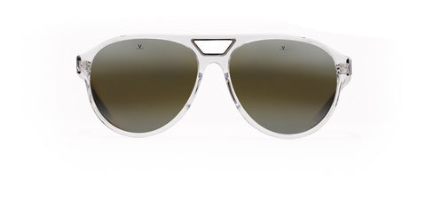 Vuarnet - District 1908 Crystal Tortoise Sunglasses / Skilynx Lenses