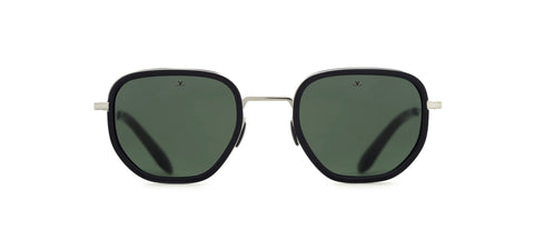Vuarnet - Edge 1921 Black Flag Sunglasses / Pure Grey Lenses