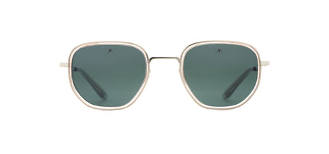 Vuarnet - Edge 1921 Black Crystal Sunglasses / Pure Grey Lenses
