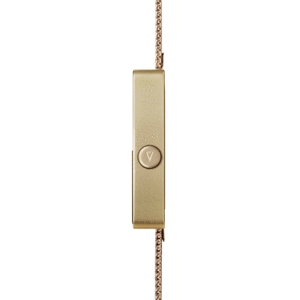 Void Watches - V02MKII Matte Gold Analogue Gold Milanese Metal Bracelet Clever Analogue Watch