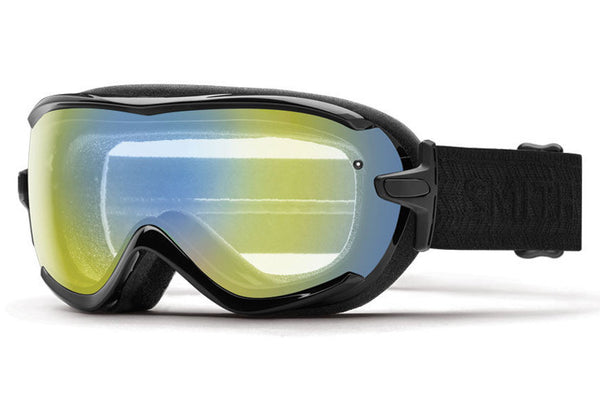 Smith - Virtue Black Eclipse Goggles, Yellow Sensor Mirror Lenses