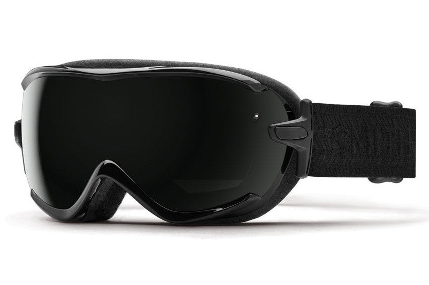 Smith - Virtue Black Eclipse Goggles, Blackout Lenses