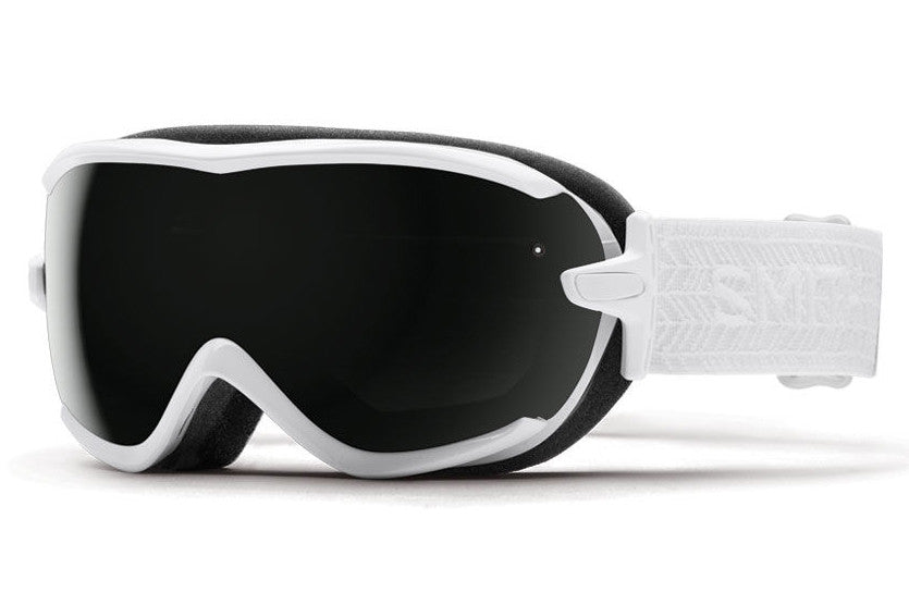 Smith - Virtue White Eclipse Goggles, Blackout Lenses