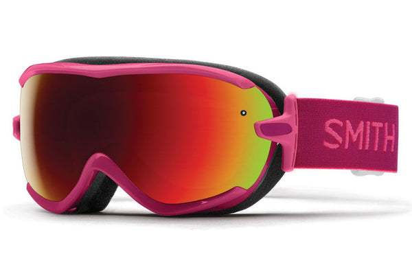 Smith - Virtue Fuchsia Static Goggles, Red Sol-X Mirror Lenses
