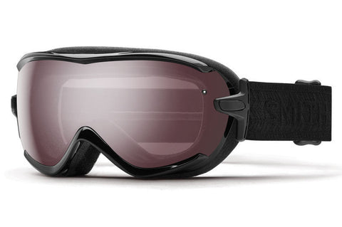 Smith - Virtue Asian Fit Black Eclipse Goggles, Ignitor Mirror Lenses