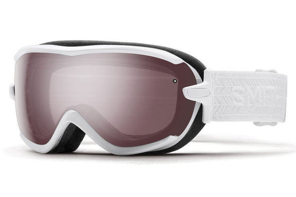 Smith - Virtue White Eclipse Goggles, Ignitor Mirror Lenses