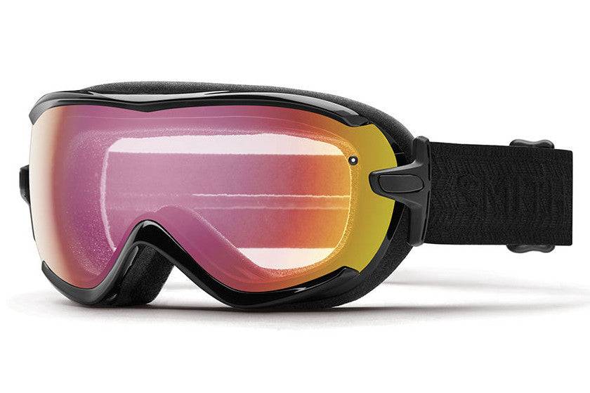 Smith - Virtue Black Eclipse Goggles, Photochromic Red Sensor Lenses