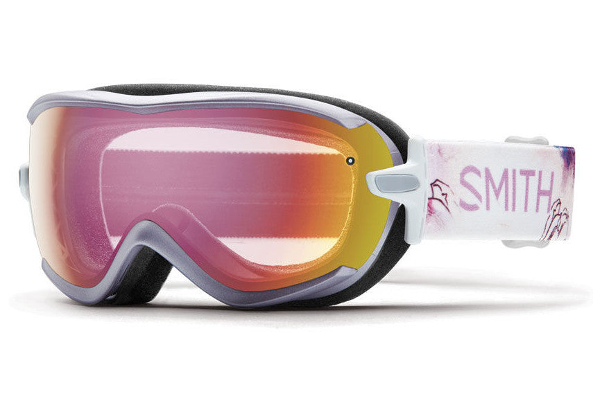 Smith Virtue Lunar Bloom Goggles, Red Sensor Mirror Lenses