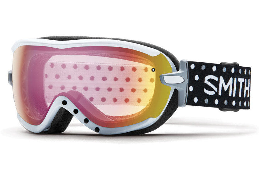 Smith - Virtue White Dots Goggles, Red Sensor Mirror Lenses