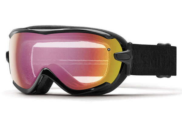 Smith - Virtue Black Eclipse Goggles, Red Sensor Mirror Lenses