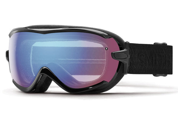 Smith - Virtue Black Eclipse Goggles, Blue Sensor Mirror Lenses