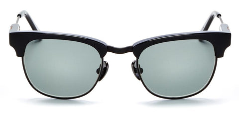 Westward Leaning - Vanguard 01 Polished Black Sunglasses / Polarized Grey Lenses