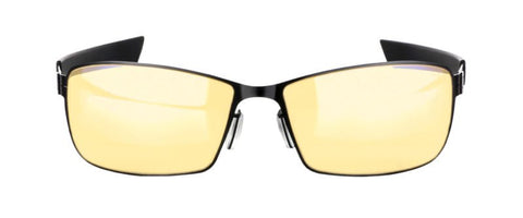 Gunnar - Vayper Onyx Eyeglasses / Amber Blue Light Lenses