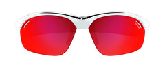 Tifosi - Veloce White / Black Sunglasses, Interchangeable AC Red / Clarion Red / Clear Lenses