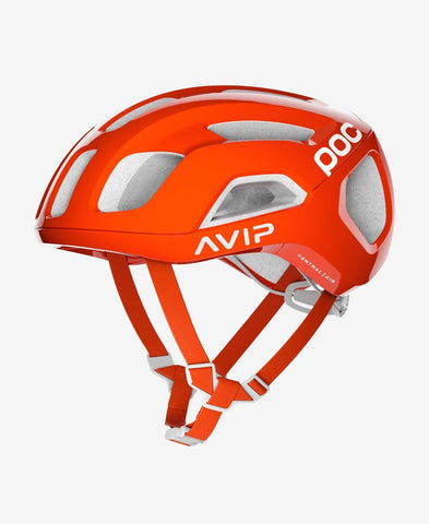 POC - VENTRAL AIR SPIN Medium Zink Orange AVIP Bike Helmet