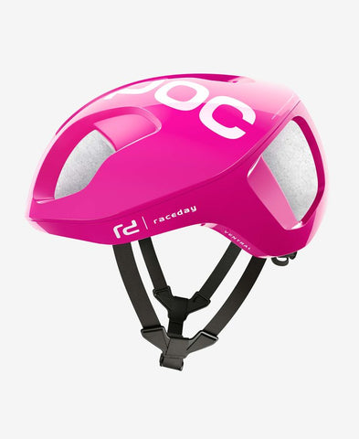 POC - VENTRAL SPIN Medium Fluorescent Pink Bike Helmet