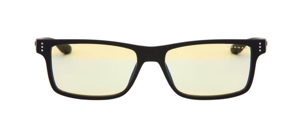 Gunnar - Vertex Onyx Eyeglasses / Amber Blue Light Lenses