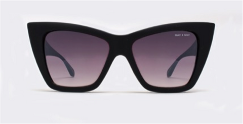 Quay x Shay Mitchell Vesper Black Sunglasses