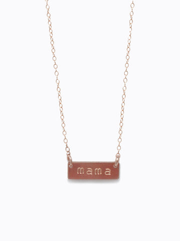 ABLE - Vista Rose Gold Necklace