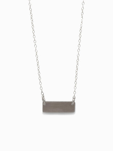 ABLE - Vista Silver Necklace