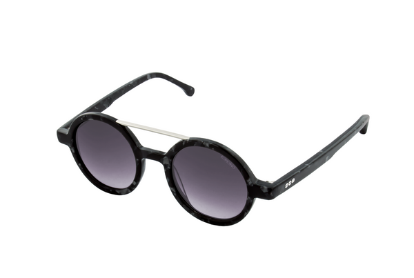Komono - The Vivien Black Marble Sunglasses