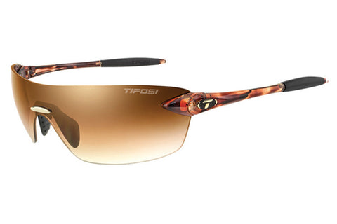 Tifosi - Vogel 2.0 Tortoise Sunglasses, Brown Gradient Lenses