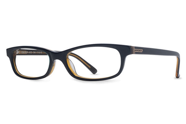 VonZipper Purity Ring Black Blue Gold Rx Glasses