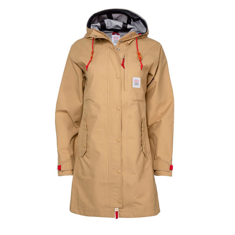 Topo Designs - Women's Tech Trench Tan Hoodie