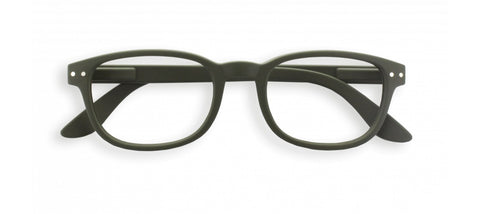 Izipizi - #B Kaki Green Reader Eyeglasses / +1.00 Lenses