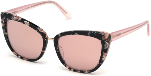 Marciano - GM0783 Havana Sunglasses / Bordeaux Mirror Lenses