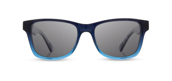 Shwood - Canby Mariner Blue Sunglasses / Grey Polarized Lenses