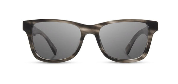 Shwood - Canby Matte Grey Sunglasses / Grey Lenses
