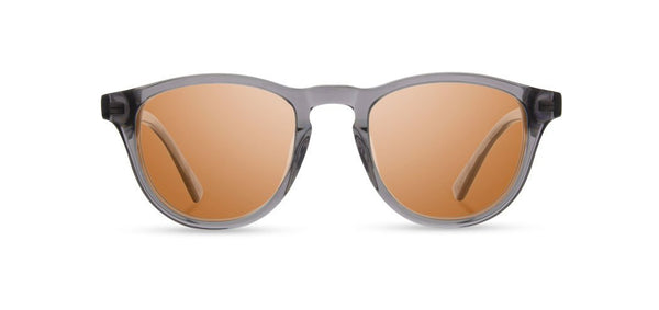 Shwood - Francis Smoke Sunglasses / Brown Polarized Lenses