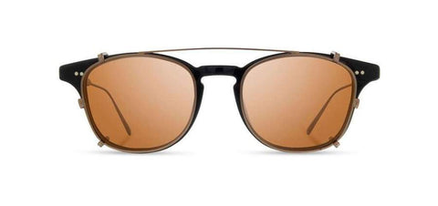 Shwood - Kennedy City Iron and Resin Edition Black Bronze Sunglasses / Brown Polarized Lenses