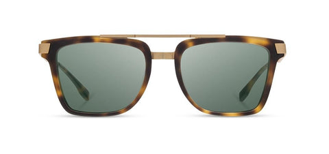 Shwood - Lincoln Matte Brindle Sunglasses / G15 Polarized Lenses