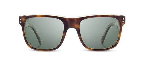Shwood - Monroe Brindle Sunglasses / G15 Polarized Lenses