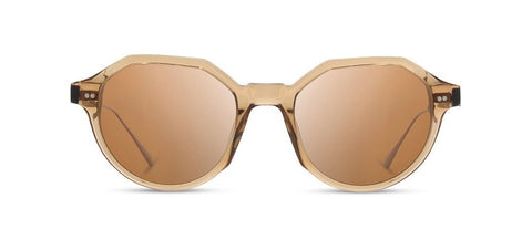 Shwood - Powell Copper Crystal Sunglasses / Brown Polarized Lenses