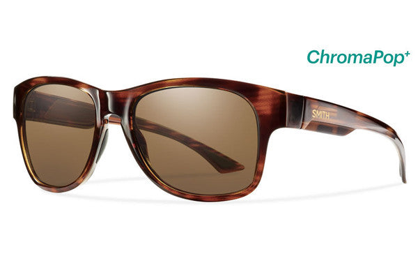 Smith - Wayward Havana Sunglasses, ChromaPop+ Polarized Brown Lenses