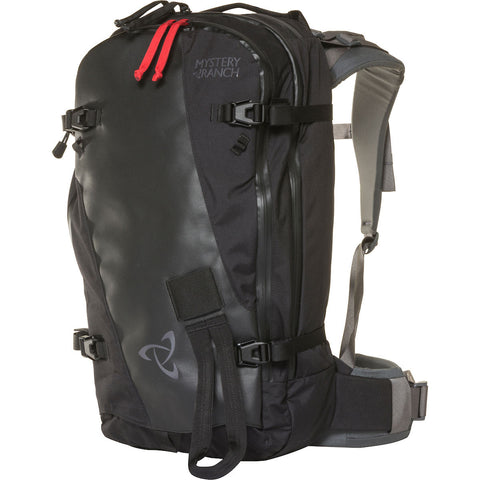 Mystery Ranch - Saddle Peak S-M Black Ski & Snowboard Backpack