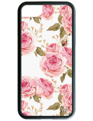 Wildflower - White Floral iPhone 6/7/8 Case
