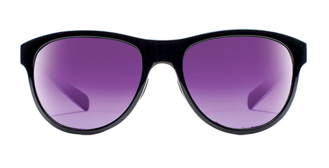 Native - Acadia Gloss Black Sunglasses / Violet Reflex Lenses
