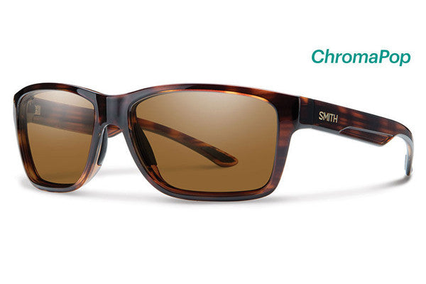 Smith Wolcott Tortoise Sunglasses, ChromaPop Polarized Brown Lenses