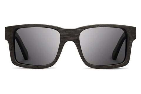 Shwood - Haystack Dark Walnut / Grey Sunglasses