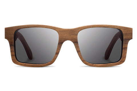 Shwood - Haystack Walnut / Grey Sunglasses