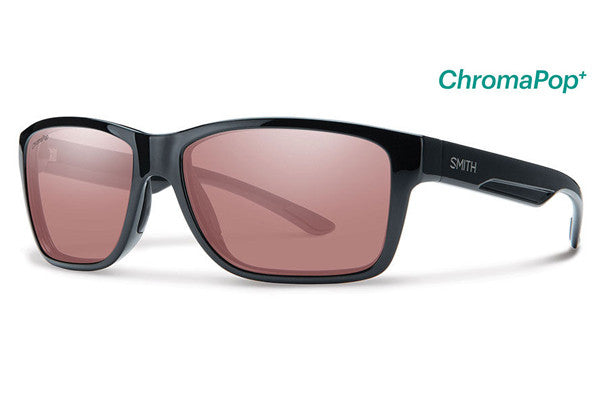 Smith - Wolcott Black Sunglasses, ChromaPop+ Polarchromic Ignitor Lenses