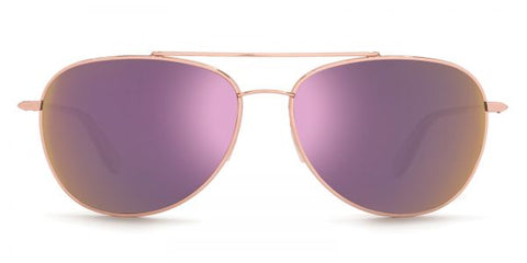Kaenon - Driver Gold Tortoise Sunglasses / B12 Rose Gold Mirror Lenses