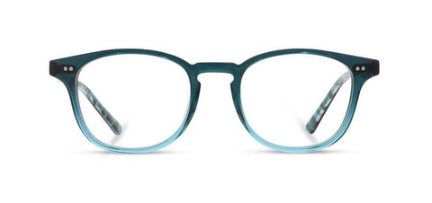 Shwood - Kennedy Acetate Deep Sea Eyeglasses / Demo Lenses